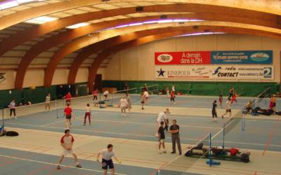 Le Brussels Badminton Club à Anderlecht